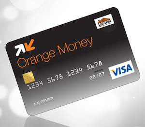 how to get your own orange money visa card - Visa Money Card